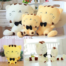 Include Tail Cute Plush Stuffed Toys Cushion Fortune Cat Doll Pillow Girls Gift