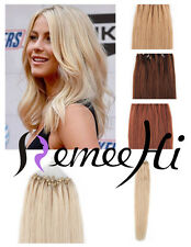 "New 30s 50s 16""18""20""Human Hair Micro Ring Loop Tip Remy Human Hair Extensions"