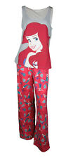 Ladies Pj Set  Ariel Disney PJ/Pyjama/Nightwear 8/10 12/14 16/18 20/22