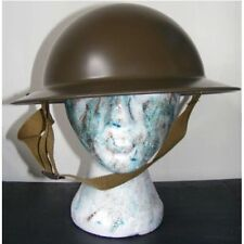 MILITARY HELMET WW2 REPLICA ADULT THEATRE FANCY DRESS COSTUME ARMY RE-ENACTMENT