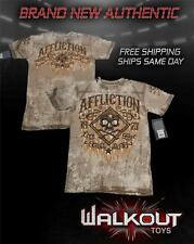 """AFFLICTION """"BOURBON RUST"""" AUTHENTIC  BRAND NEW MENS T-SHIRT NWT"""