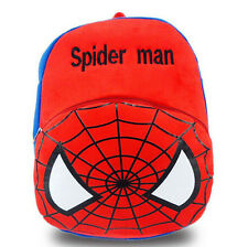 Lot spider-man  Plush Small Bag Children Boys Girls Small Bag Backpack A082