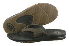 Reef Leather Fanning RF-002416BPLCasual Thong Sandals Slippers Medium (D, M) Men