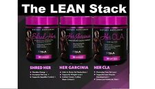 NLA For Her LEAN Stack - Garcinia, CLA, Shred Her - Save $$ on the Fat Burn Stak