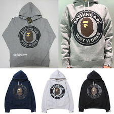 A BATHING APE Men's BUSY WORKS PULLOVER HOODIE 4 Colors New