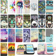 Case Cover Stand Card Slot Pouch Housing Dustproof for Samsung Note3/4 S3/4/5/6