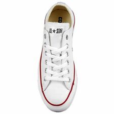 Converse 132173C: Chuck Taylor All-Star Leather Low OX WHITE Shoes Men/Boy/Women