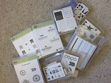 Stampin' Up! Clear Stamp Sets Used Your Choice