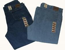 WRANGLER BIG & TALL Rugged Wear Relaxed Fit Zipper Fly Jeans Light or Dark NWT