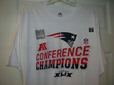 NEW ENGLAND PATRIOTS 2014 AFC CONFERENCE CHAMPIONS SHORT SLEEVE ADULT T-SHIRT