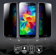 Oleophobic Privacy 9H Tempered Glass Screen Protector Samsung 4 Galaxy S3 S4 S5