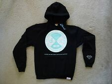 NWT Authentic Diamond Supply Co. All or Nothing Black Pullover Hoodie
