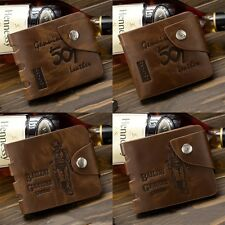 PU Leather Credit/ID Card Holder Fashion Mens Wallet Bifold Genuine Slim Purse