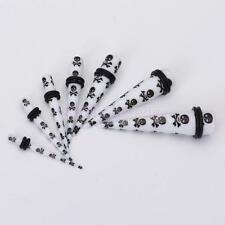7pcs Acrylic Ear Expander Taper Stretcher Plugs Earring Kit Gauges Piercing