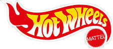 Hot Wheels #2 CAr Cartoon logo Vinyl Decal/Sticker - 4 Sizes Available