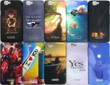DESIGNER PRINTED TOUCHFEEL HARD BACK CASE COVER 4 MICROMAX CANVAS 2 COLOURS A120