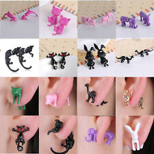 Fashion Jewelry lovely Animal Cute Kitten Dog Earring Ear Stud Lady Women Gift