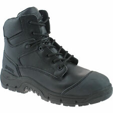 MAGNUM ROADMASTER COMPOSITE SAFETY BOOTS SIZE UK 7 - 13 MENS WORK BLACK LEATHER
