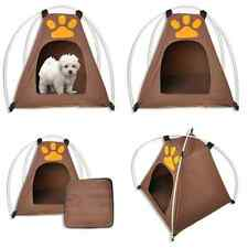 Lovely Portable Folding Dog Pet House Bed tent Waterproof  Indoor Outdoor Teepee