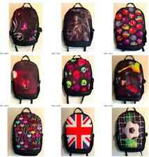 BACKPACK PRINT RUCKSACK BAG WOMEN GIRLS BOYS TRAVEL SCHOOL COLLEGE