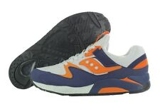 Saucony Grid 9000 S70077-35 Blue White Casual Running Shoes Medium (D, M) Mens