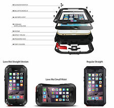 """Shockproof Aluminum Glass Metal Cover Case for iPhone 6 4.7"""" and 6 plus 5.5"""""""