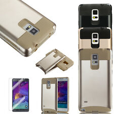 PC Shockproof Dustproof Case Cover Stand For Samsung Galaxy Note 4 w/film & Pen