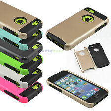 Silicone Bumper Shockproof Heavy Duty Rugged Hard Case Cover for iPhone 5C
