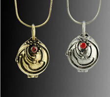 Vampire Diaries Elena Gilbert Antique Silver Necklace Pendant Vervain 2 Color