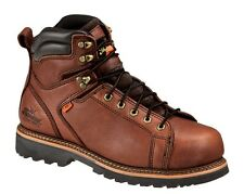 Thorogood Work Boots Mens Leather Lace Steel Toe Tobacco 804-4614