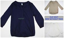 New OLD NAVY Maternity Top Shirt Tunic Women's NWOT Size sz XS S M L