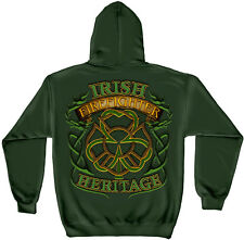 Irish Firefighter Heritage Green Hoodie Sweatshirt M,L,XL,2XL,3XL