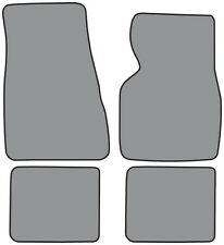 1983-1988 Mercury Cougar Cutpile 4pc Factory Fit Floor Mats