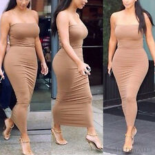 Women Bandage Evening Party Cocktail Summer Bodycon Pencil Dress Clubwear Hot