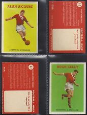 A&BC - FOOTBALL 1959 QUIZ 2ND SERIES (NUMBERS 76-98) PLEASE SELECT YOUR CARD.