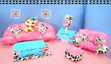 Littlest Pet Shop Accessories DOLL HOUSE CUSTOM MADE FURNITURE COLLIE DOG