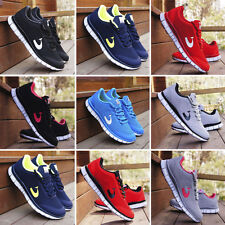 Womens Mens Trainer Fitness Sneakers Non Slip Breathable Sports Shoes Plimsolls