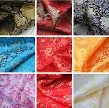 "1/2 yard/meter Chinese tapestry brocade satin Fabric Many Color DIY 35"" #26"