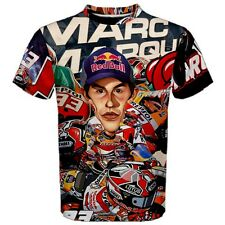 Marques 93 Best Fans Psychedelic Design Moto GP Racing 3D Full Print T Shirt