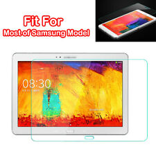9H Slim Premium Real Tempered Glass Screen Protector Film For Samsung Tablet