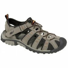 Boys Kids Toggle Soft Velcro Trail Walking Beach Closed Toe Sports Sandals Taupe