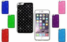 Diamond Sparkly Hard Back Chrome Gem Bling Case Cover For Apple iPhone 4S 4G UK