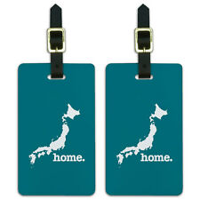 Japan Home Country Luggage Suitcase ID Tags Set of 2