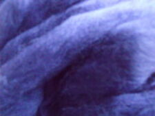 DYED MERINO WOOL ROVING TANZANITE DARK BLUE IDEAL SPINNING FELTING DREADS