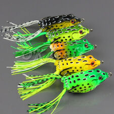 Creative Frog Topwater Fishing Lure Crankbait Hooks Bass Bait Outdoor Sporting