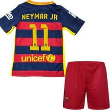 2015-16 Football Soccer Short Jersey Sleeve Kid boy  3-13 Y Team Suit Sportswear