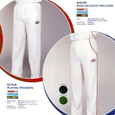 BOYS NORTH GEAR Cricket TROUSERS ELITE Bowling Whites in size 6/9, 10/12 & 13/14