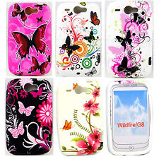 Soft Rubber Case Silicone Shell Phone Accessories Skin Cover For HTC Wildfire G8