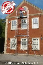 SUPER DIY Aluminium Scaffold Tower/Towers - 4m - 7m! Free Next Day Delivery!