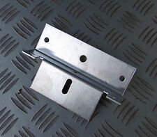 2 X SOLAR PANEL UNIVERSAL MOUNTING FIXING BRACKETS ideal for motorhome roof etc.